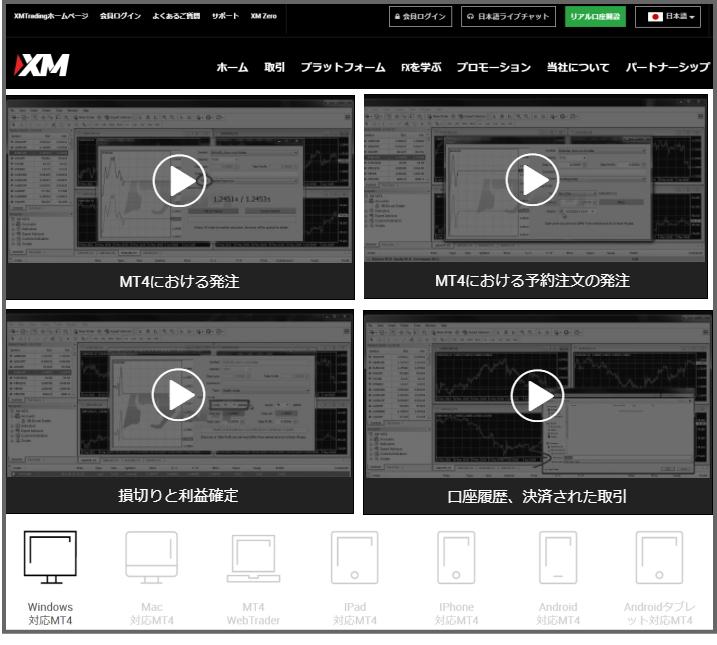 XM損切方法の動画