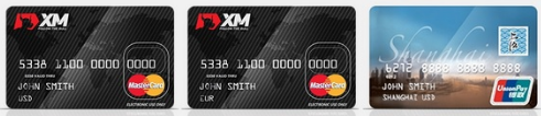 3種類のXmカード