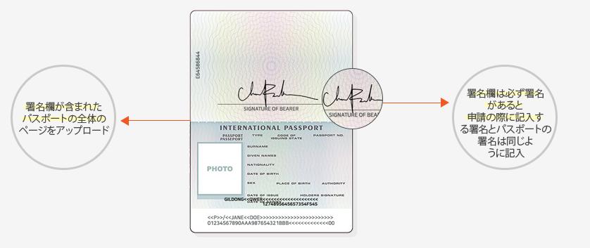 STICPAYの申し込みパスポート