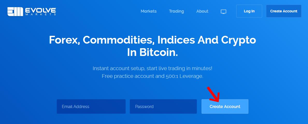 EvolveMarkets公式サイト