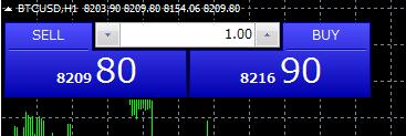 Tradeviewビットコイン購入