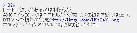 axiory ECN口座への評判