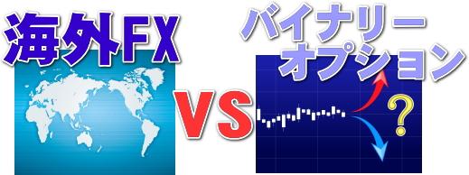 海外FXとバイナリーオプション