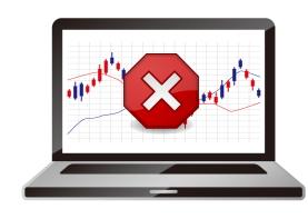 海外FXで取り引き停止