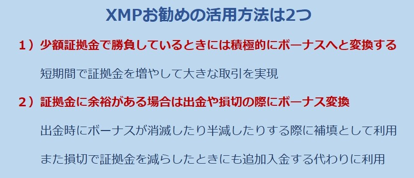XMP2つの活用方法